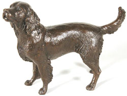 Michael Simpson, Bronze, Medium Springer Spaniel Standing