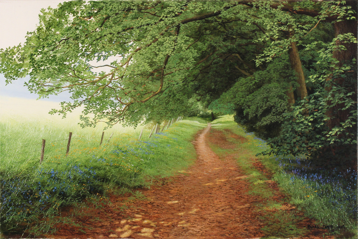 Michael james smith dappled light yorkshire enlarge for Michael james smith paintings