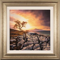 Suzie Emery, Original acrylic painting on board, Twistleton Scar