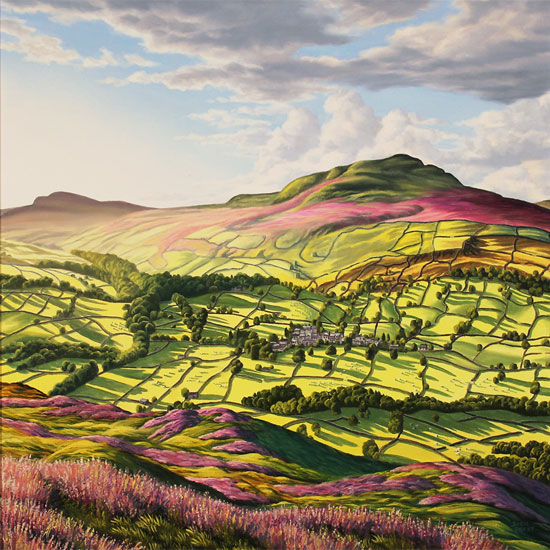 Suzie Emery, Original acrylic painting on board, Yorkshire Glory