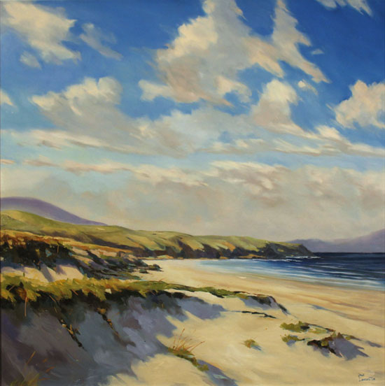 Paul Lancaster, Original oil painting on canvas, Sea Breeze No frame image. Click to enlarge
