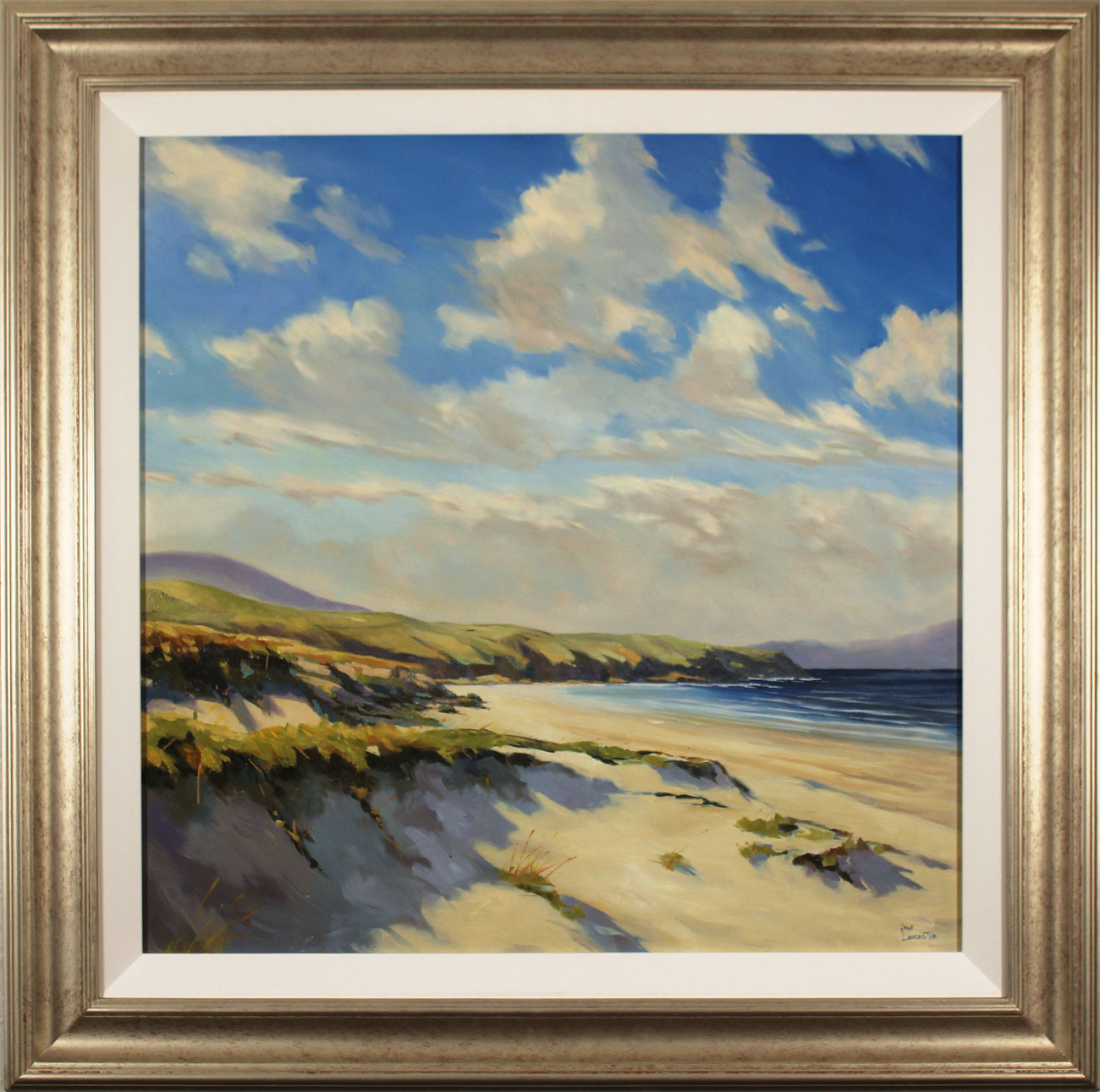 Paul Lancaster, Original oil painting on canvas, Sea Breeze. Click to enlarge