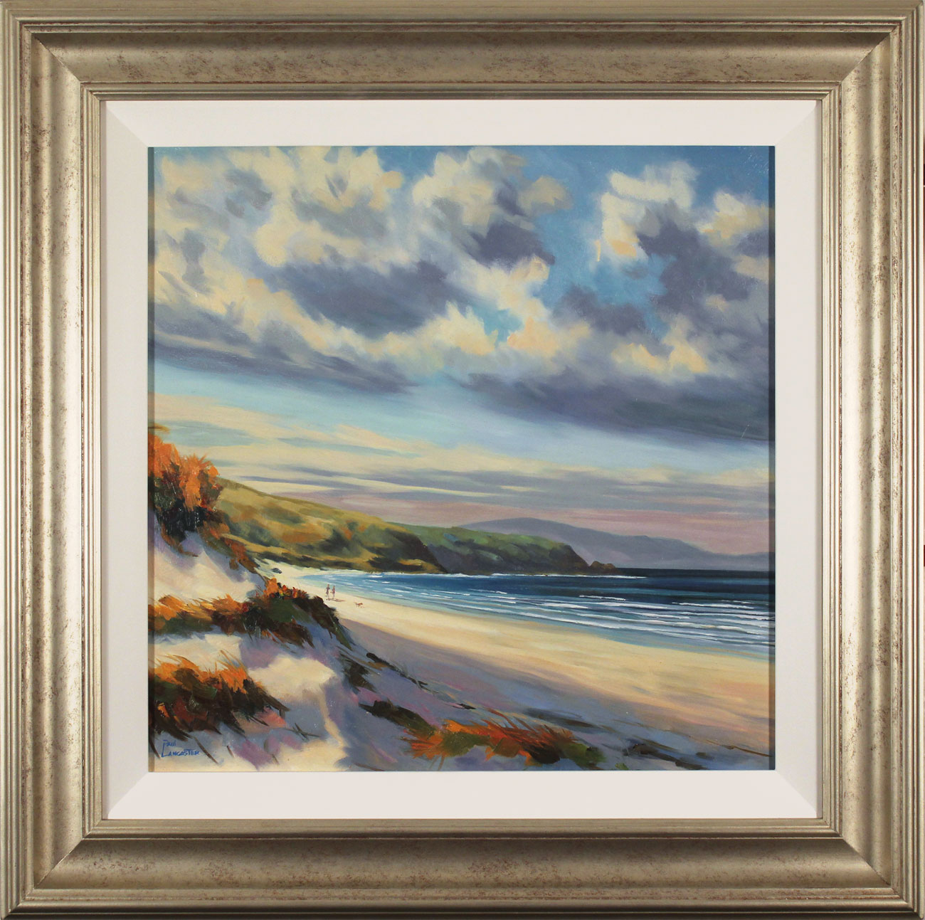 Paul Lancaster, Original oil painting on panel, Beyond the Dunes, click to enlarge