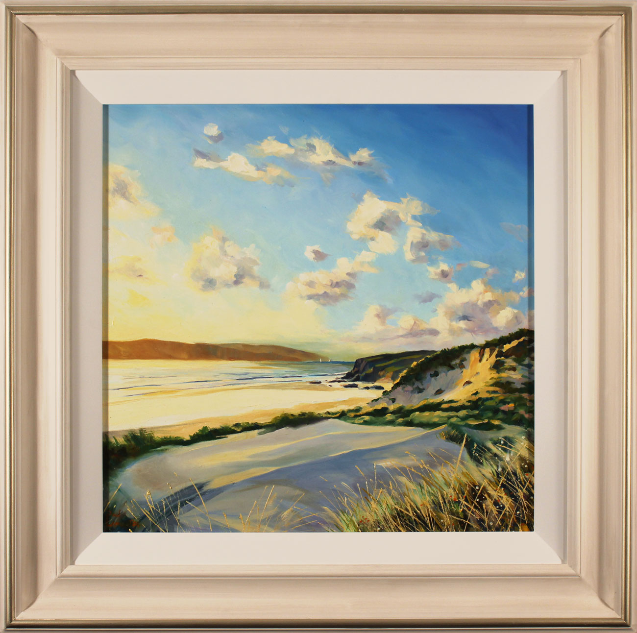 Paul Lancaster, Original oil painting on panel, Soft Sands. Click to enlarge