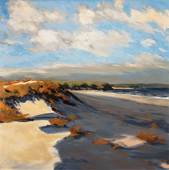 Paul Lancaster, Original oil painting on panel, Sea Breeze Without frame image. Click to enlarge
