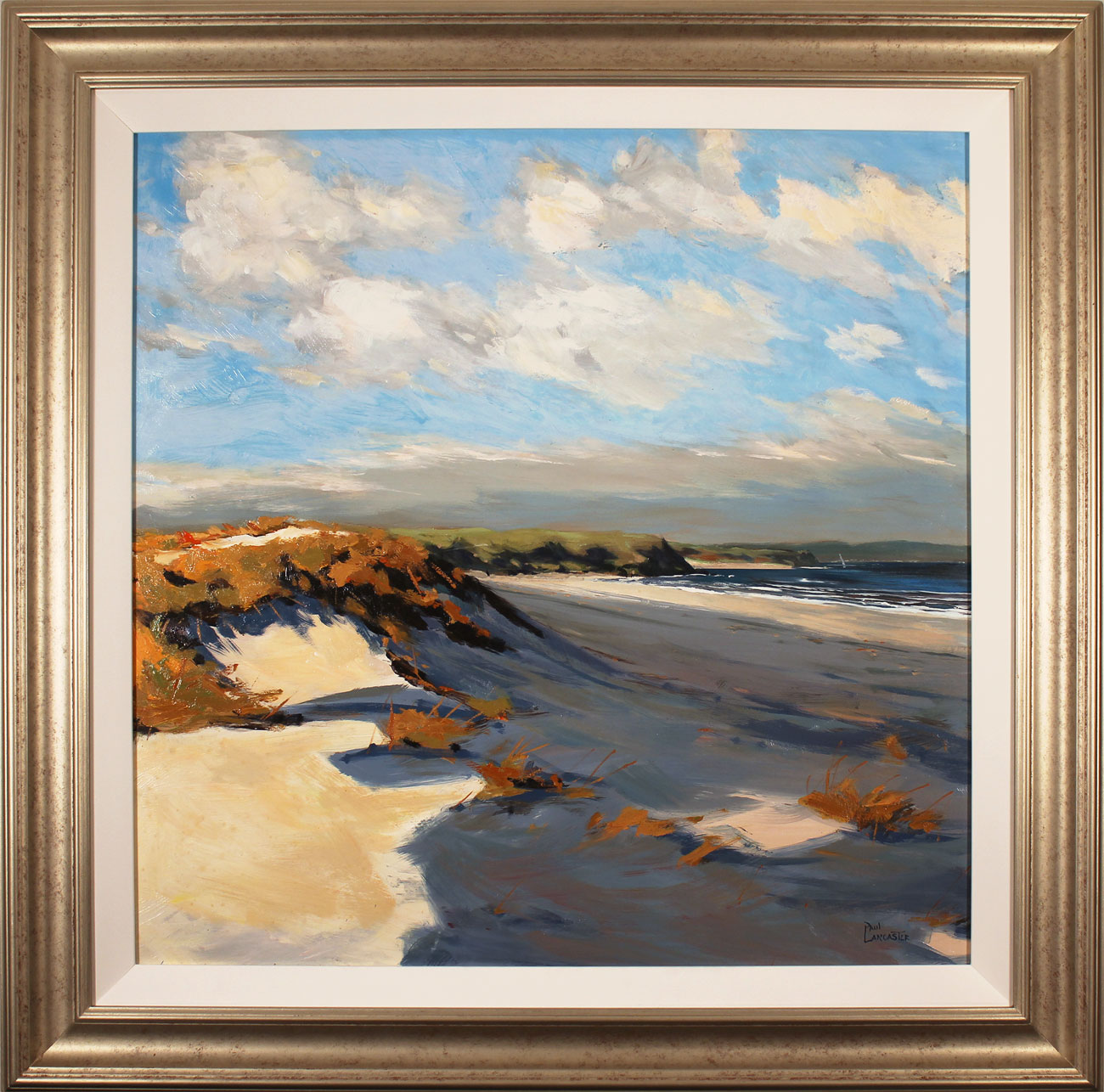 Paul Lancaster, Original oil painting on panel, Sea Breeze. Click to enlarge