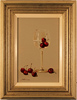 Paul Wilson, Original oil painting on panel, Wine and Cherries Large image. Click to enlarge
