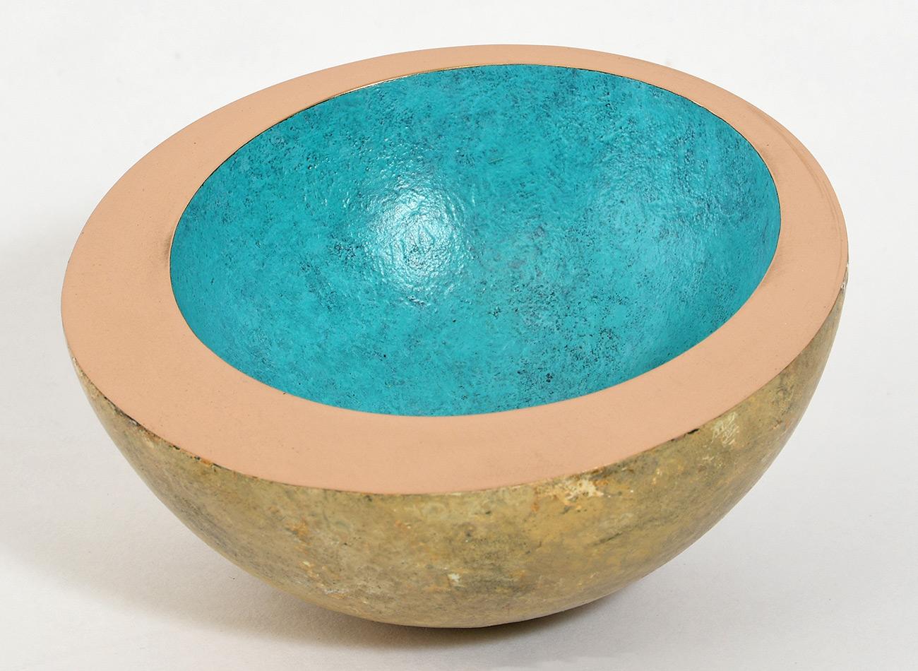 Philip Hearsey, Bronze, Riverstone Rollerbowl, click to enlarge