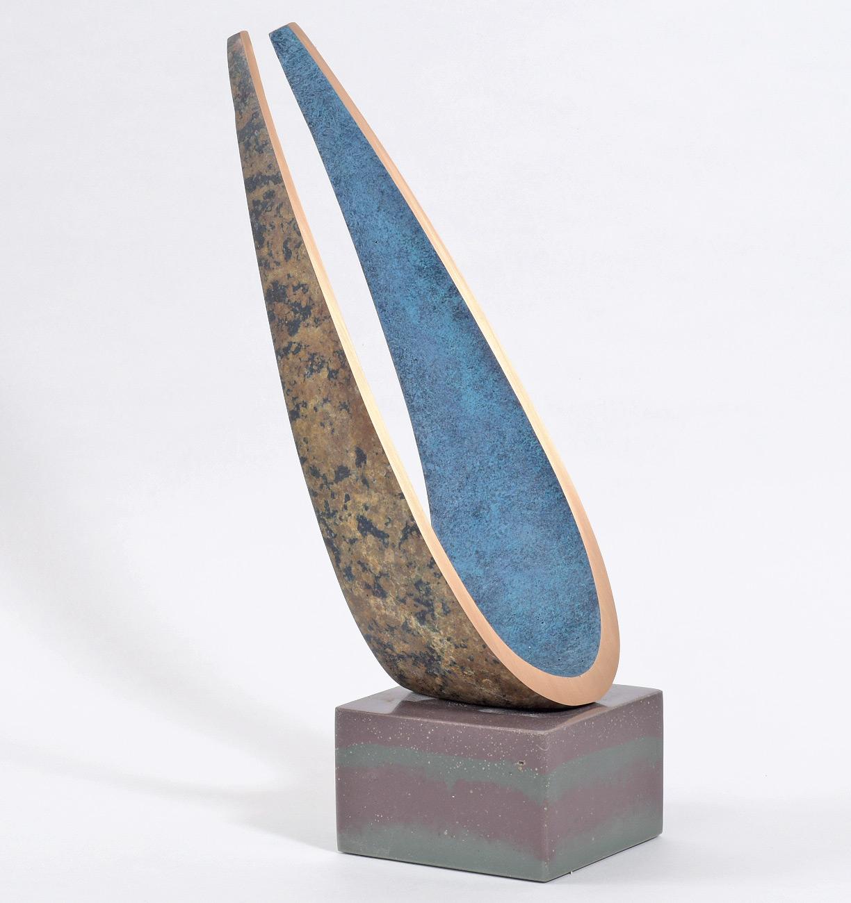 Philip Hearsey, Bronze, Line in the Sky, click to enlarge