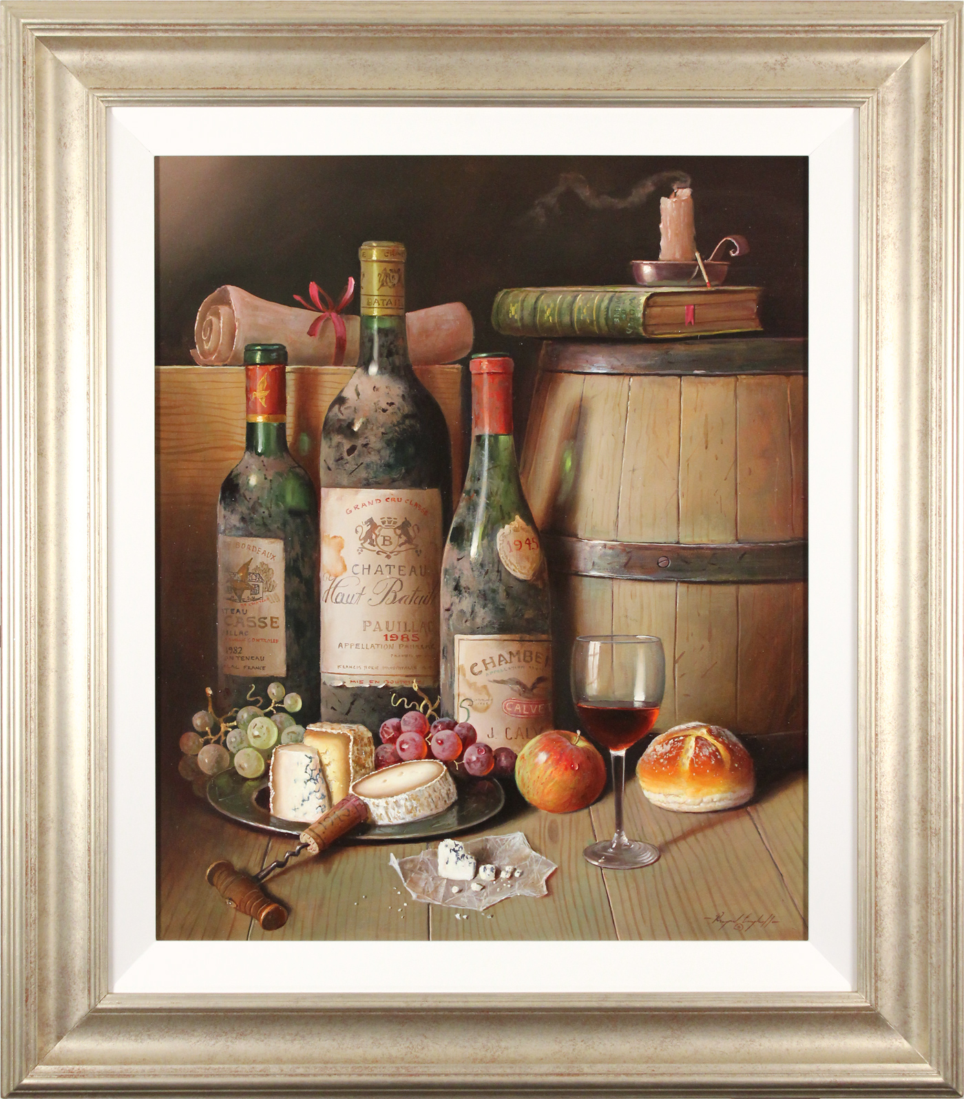 Raymond Campbell, Original oil painting on panel, A Choice Collection, click to enlarge