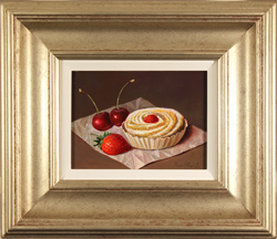 Raymond Campbell, Original oil painting on panel, Something Sweet