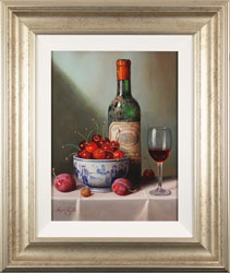 Raymond Campbell, Original oil painting on panel, Notes of Cherry and Plum Large image. Click to enlarge