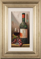 Raymond Campbell, Original oil painting on panel, Chateau Latour, 1966 Large image. Click to enlarge