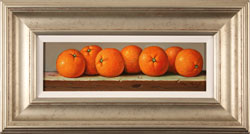 Raymond Campbell, Clementines, Original oil painting on panel