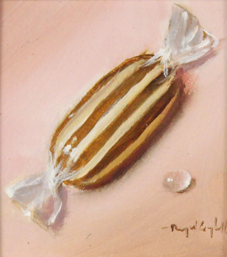 Raymond Campbell, Original oil painting on panel, All Butter  Without frame image. Click to enlarge