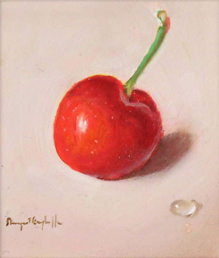 Raymond Campbell, Original oil painting on panel, Cherry Without frame image. Click to enlarge