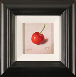 Raymond Campbell, Original oil painting on panel, Cherry Large image. Click to enlarge