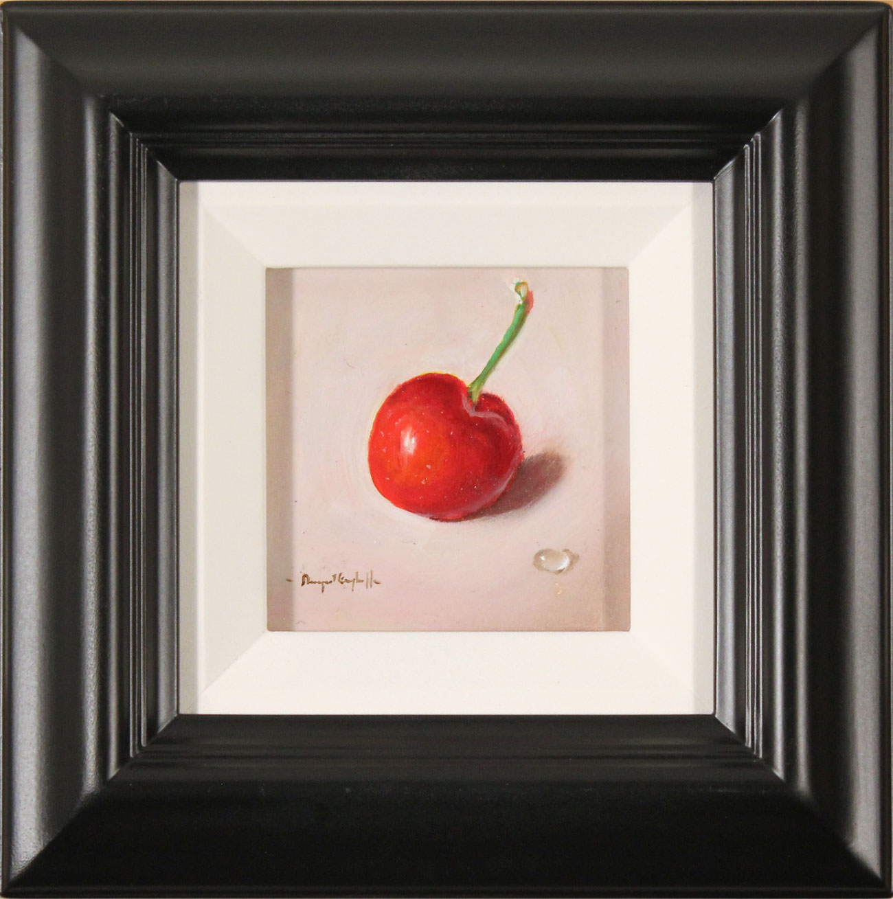 Raymond Campbell, Original oil painting on panel, Cherry. Click to enlarge