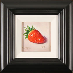 Raymond Campbell, Original oil painting on panel, Strawberry Large image. Click to enlarge