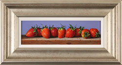 Raymond Campbell, Original oil painting on panel, Strawberries Large image. Click to enlarge