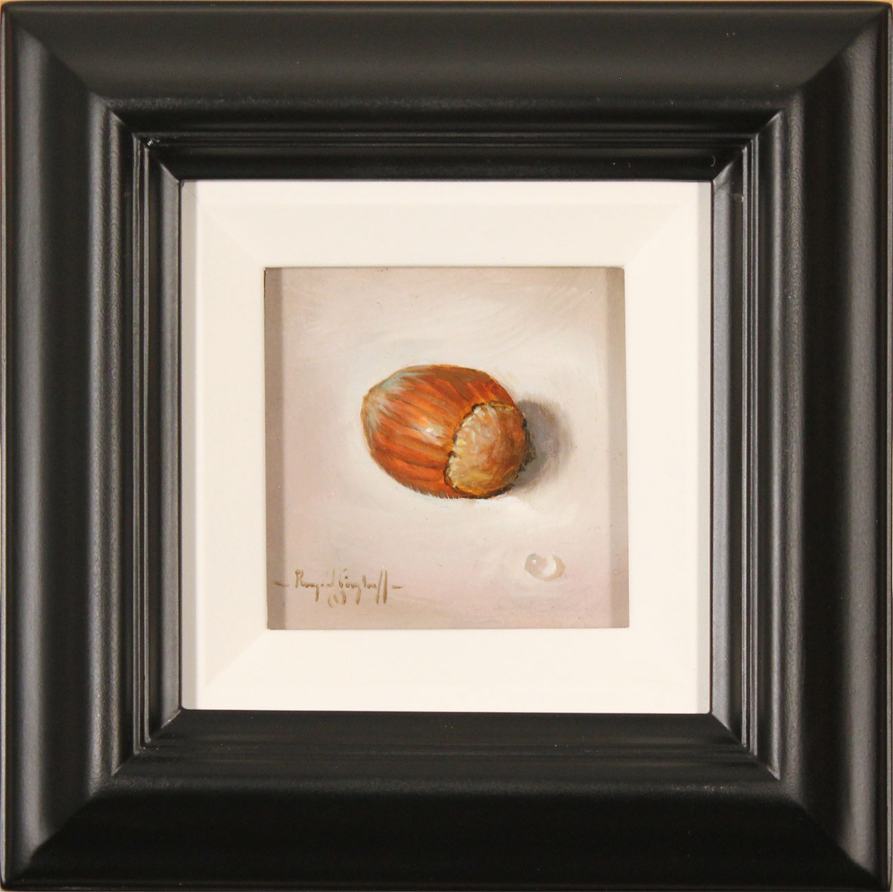 Raymond Campbell, Original oil painting on panel, Hazelnut. Click to enlarge