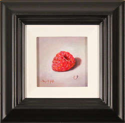 Raymond Campbell, Original oil painting on panel, Raspberry Large image. Click to enlarge