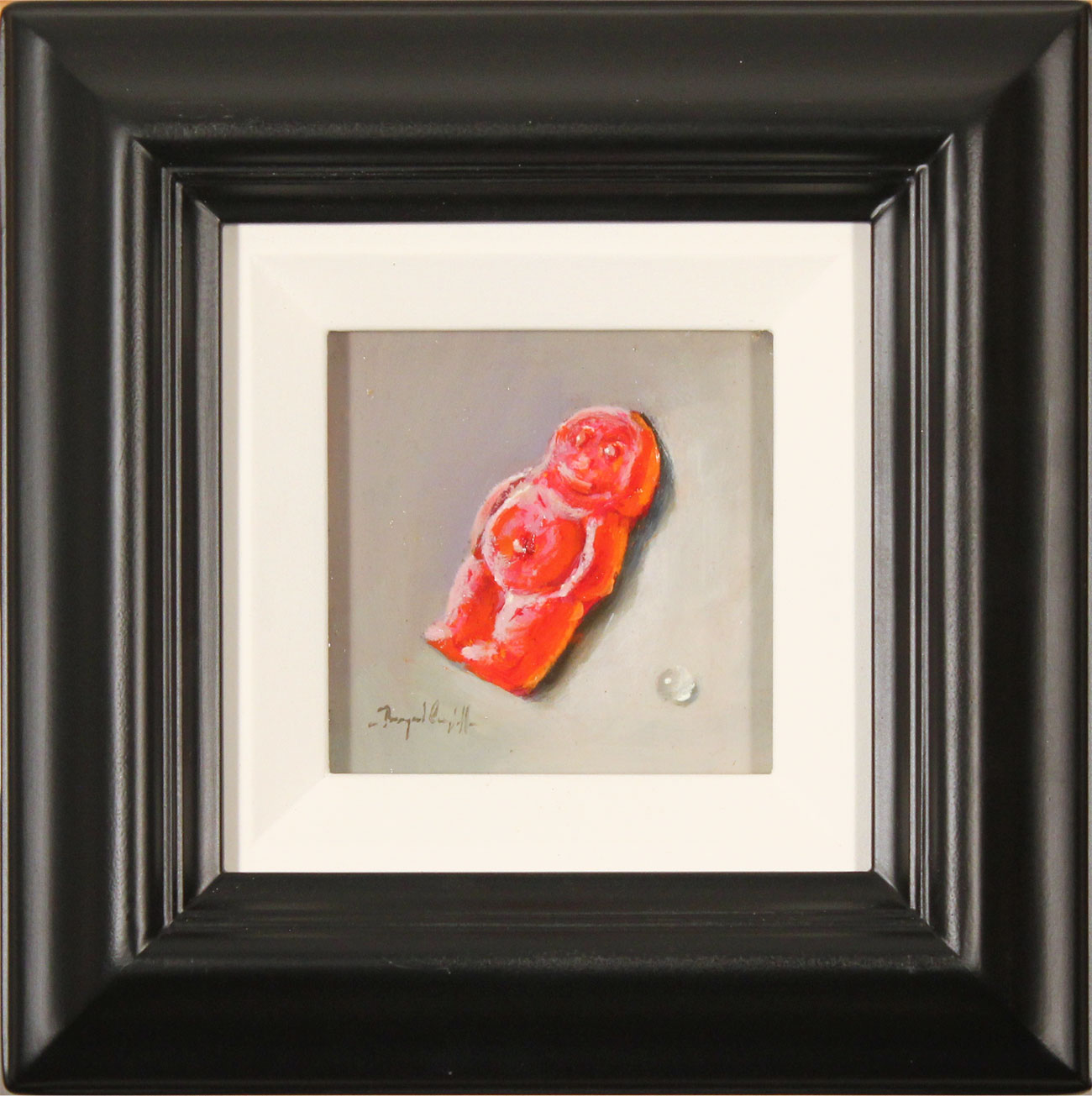 Raymond Campbell, Original oil painting on panel, Jelly Baby. Click to enlarge