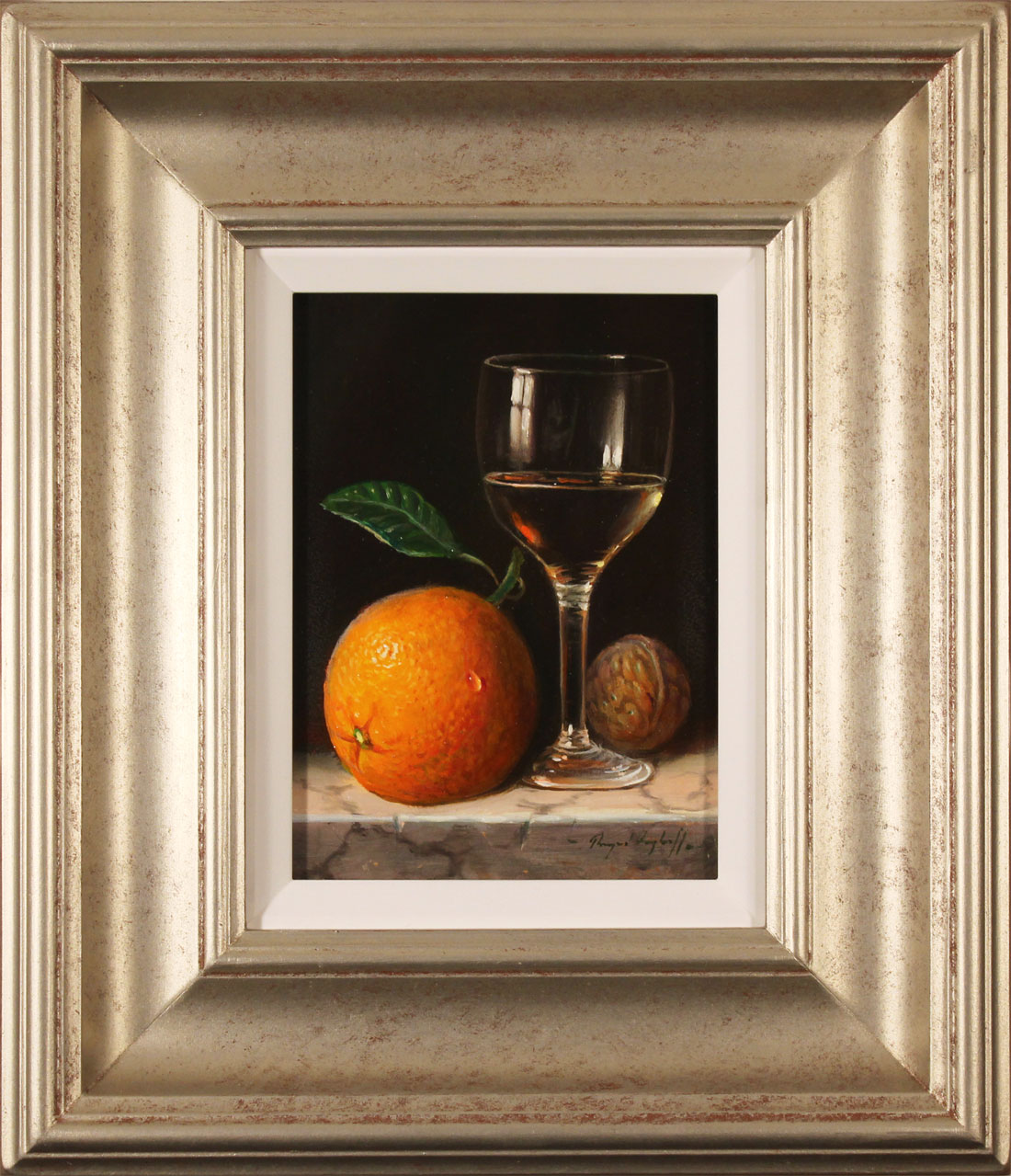 Raymond Campbell, Original oil painting on panel, Notes of Citrus, click to enlarge