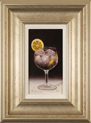 Raymond Campbell, Original oil painting on panel, Slice of Lemon Large image. Click to enlarge