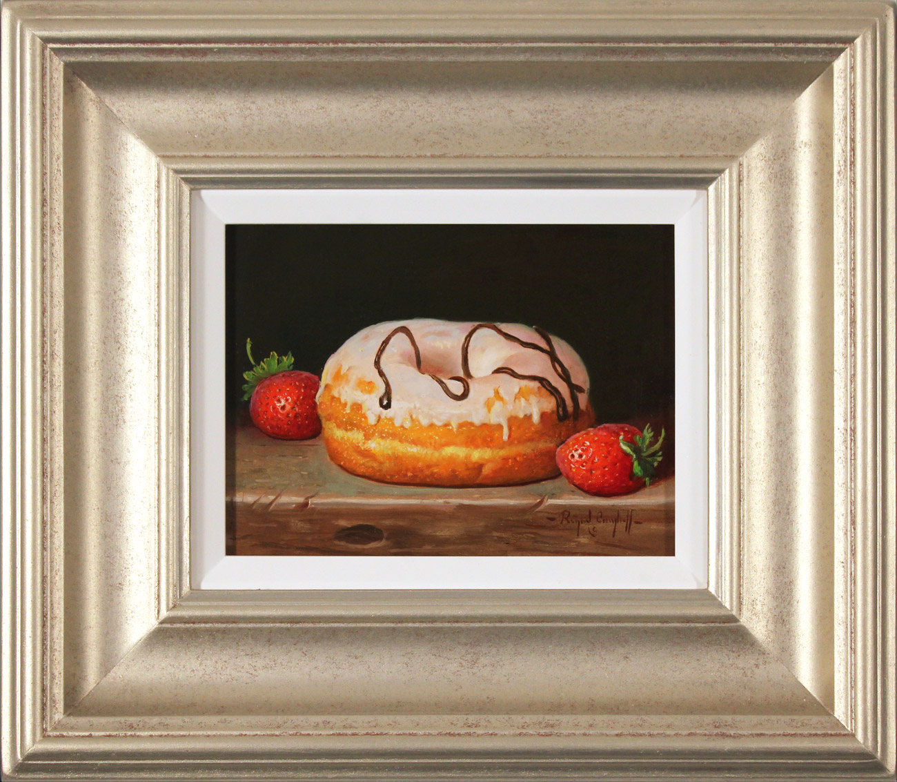 Raymond Campbell, Original oil painting on panel, Sweet Treat , click to enlarge