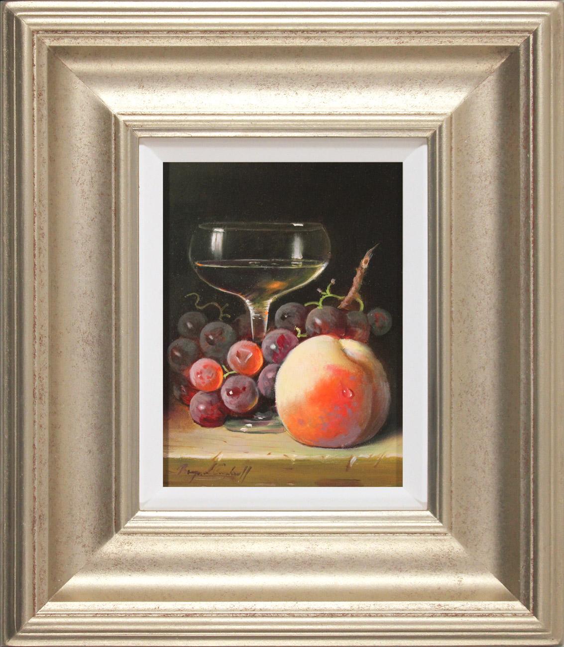 Raymond Campbell, Original oil painting on panel, A Light Apéritif, click to enlarge