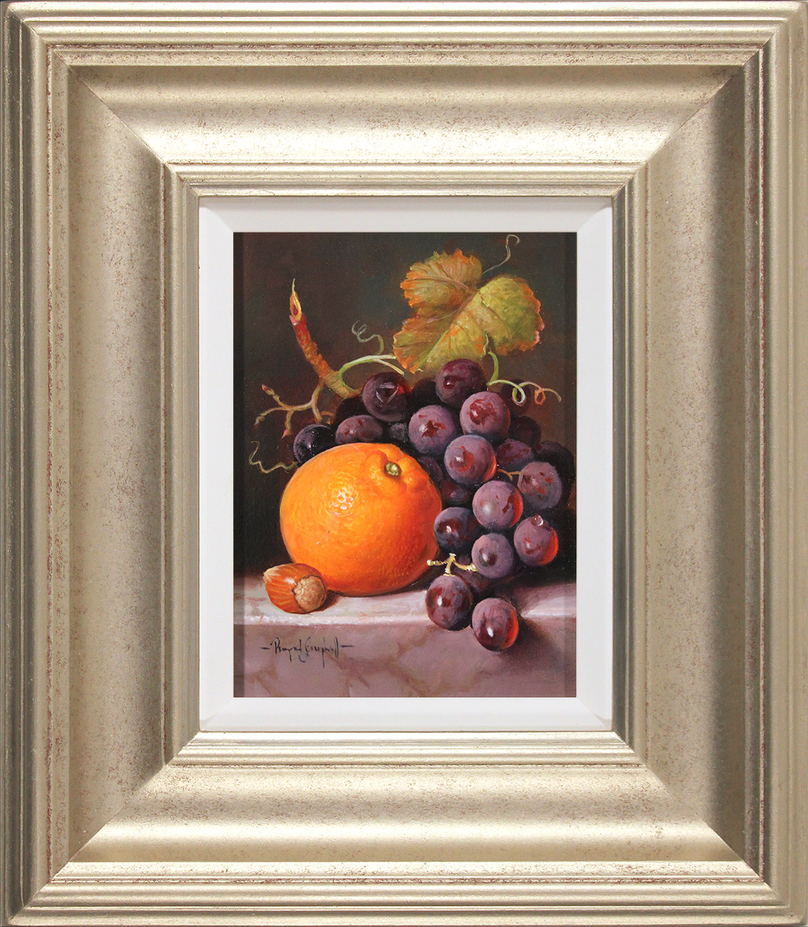Raymond Campbell, Original oil painting on panel, A Ripe Selection , click to enlarge