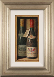 Raymond Campbell, Original oil painting on panel, Corton Grand Cru, 1989 Large image. Click to enlarge