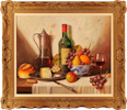Raymond Campbell, Original oil painting on panel, Clos Du Marquis 1988 Large image. Click to enlarge