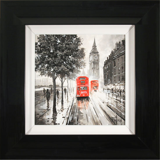 Richard Telford, Original oil painting on panel, London Calling