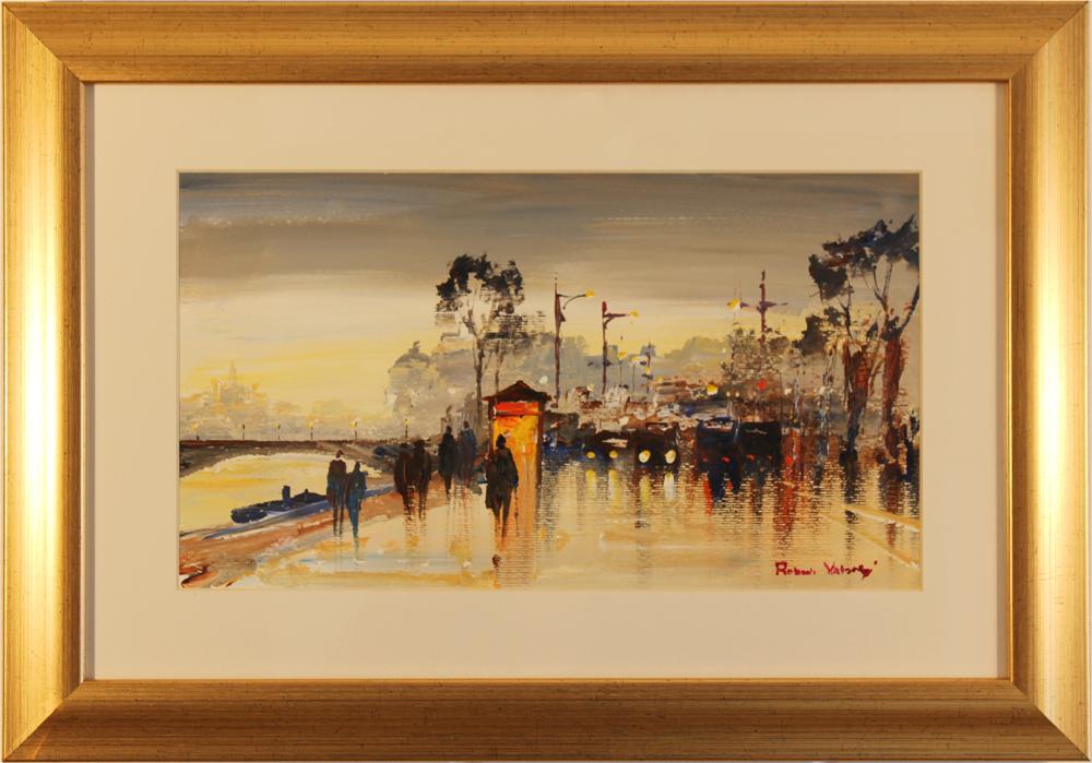 Roberto Luigi Valente, Original acrylic painting on board, Untitled, click to enlarge