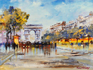 Roberto Luigi Valente, Original acrylic painting on board, Untitled Large image. Click to enlarge
