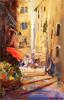 Roberto Luigi Valente, Original acrylic painting on board, Naples Large image. Click to enlarge