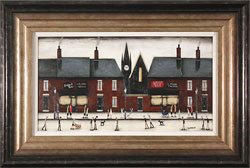 Sean Durkin, Original oil painting on panel, Tales of the High Street