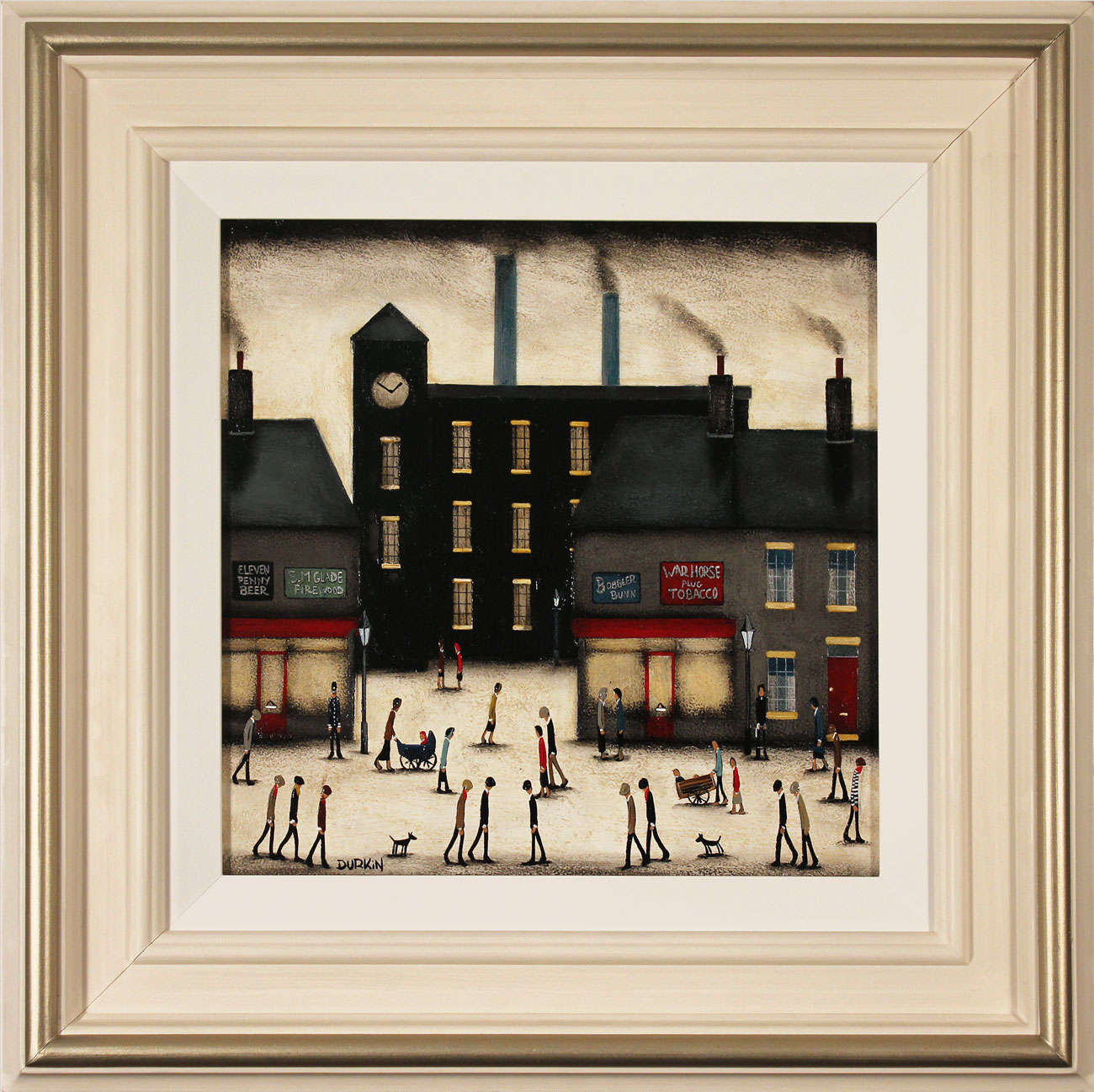 Sean Durkin, Original oil painting on panel, The Old Factory. Click to enlarge