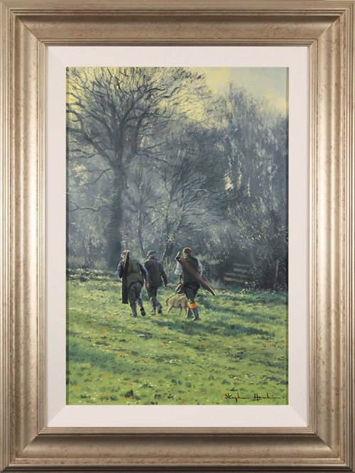 Stephen Hawkins, Original oil painting on canvas, The Country Life