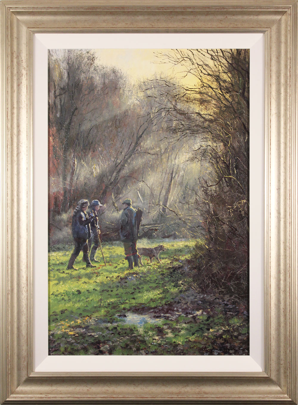 Stephen Hawkins, Original oil painting on canvas, Early Morning Drive, click to enlarge