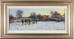 Stephen Hawkins, Original oil painting on canvas, Winter Morning Large image. Click to enlarge