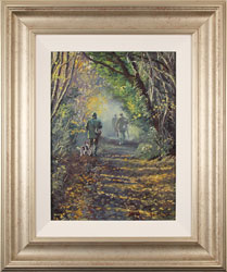 Stephen Hawkins, Original oil painting on canvas, Woodland Way Large image. Click to enlarge