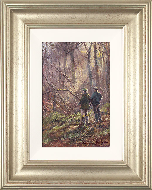 Stephen Hawkins, Original oil painting on panel, Daybreak Drive