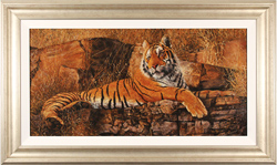 Stephen Park, Original oil painting on panel, Bengal Tiger