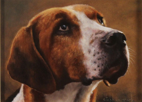 Stephen Park, Original oil painting on panel, Edgar Without frame image. Click to enlarge