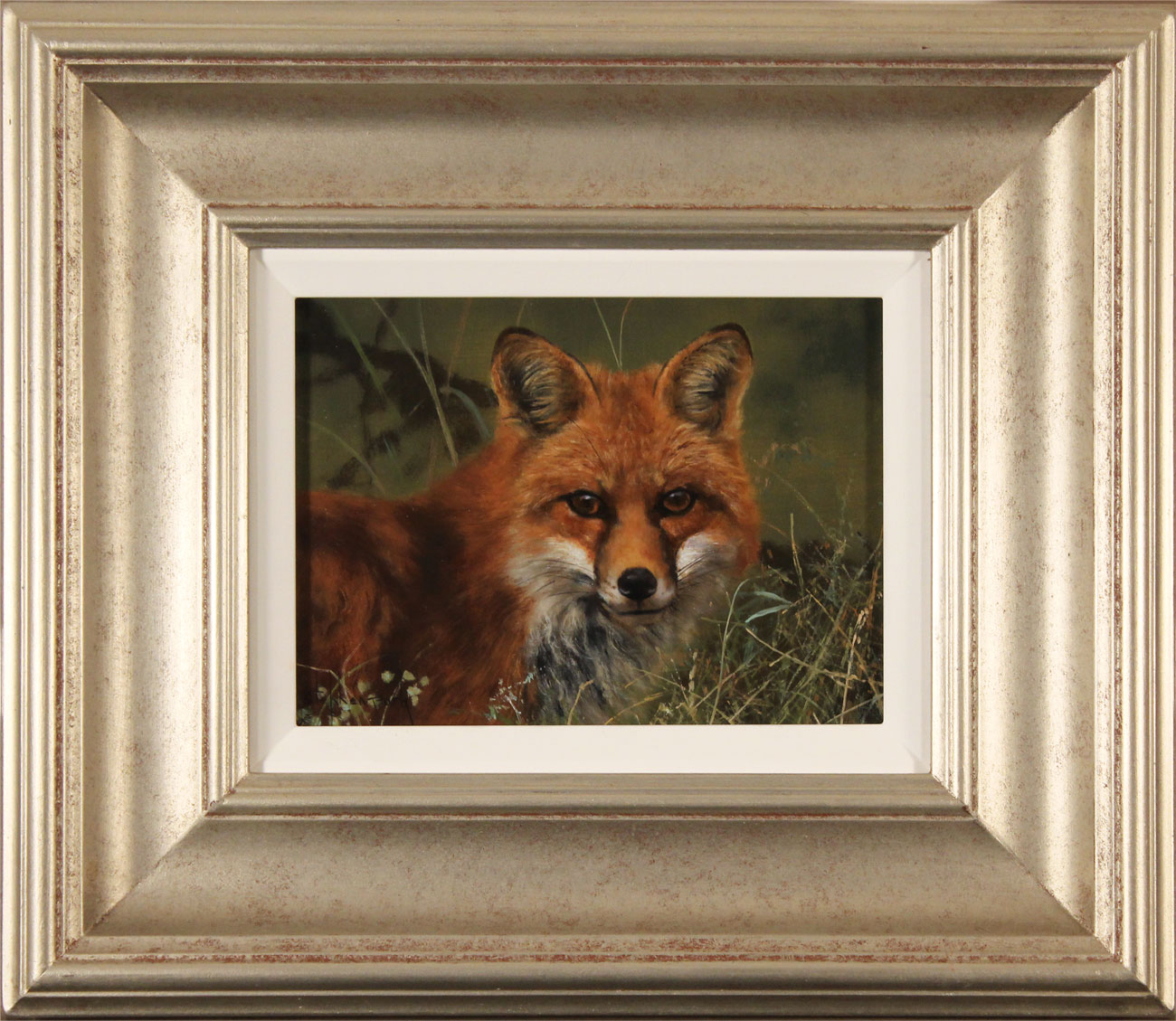 Stephen Park, Original oil painting on panel, Fox. Click to enlarge