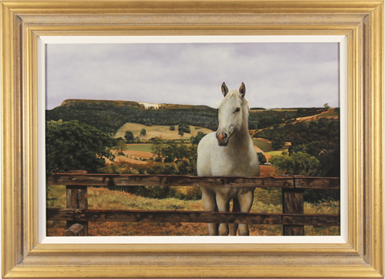 Paintings Of Kilburn White Horse
