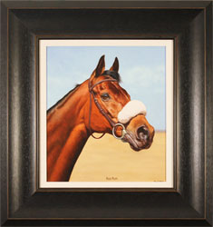 Stuart Herod, Red Rum, Original oil painting on panel